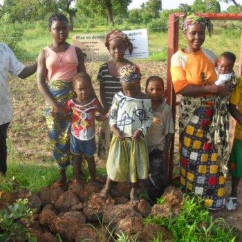 Roger Kaboré und Familie