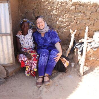 Die Projektpartnerinnen in Burkina Faso schätzen den Besuch der Präsidentin von tiipaalga